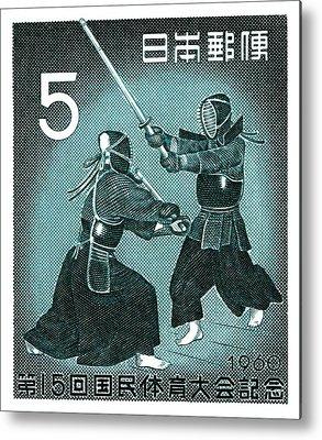 Kendo Metal Prints