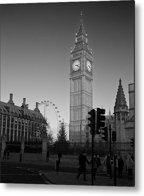London Eye Metal Prints