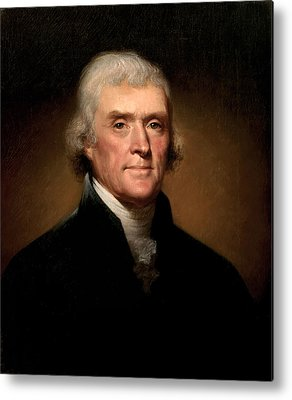 Thomas Jefferson Metal Prints