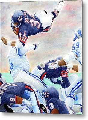 Football Metal Prints
