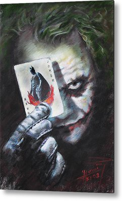 The Joker Metal Prints