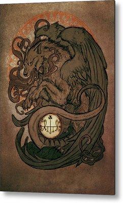 Occult Metal Prints