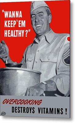Healthy Metal Prints