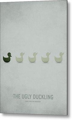 Ducklings Metal Prints