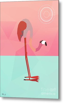 Flamingo Metal Prints