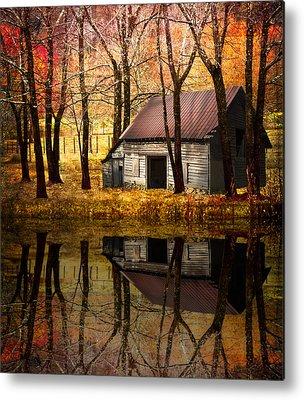 Barn In Tennessee Metal Prints