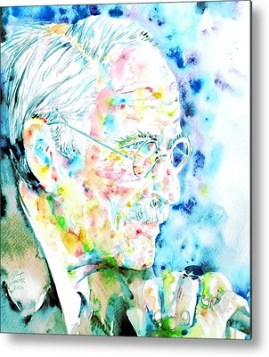 Carl Gustav Jung Metal Prints