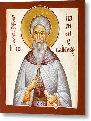 St John Climacus Paintings Metal Prints