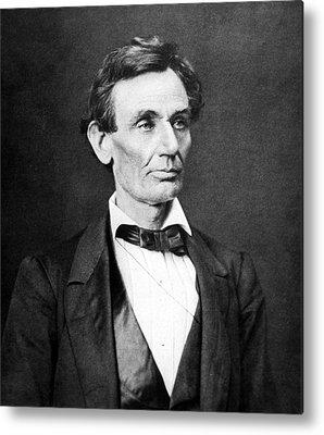 President Lincoln Metal Prints