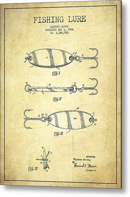 Fishing Tackle Metal Prints