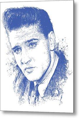 Music Rock Elvis Presley Metal Prints