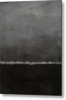 Dark Grey Metal Prints