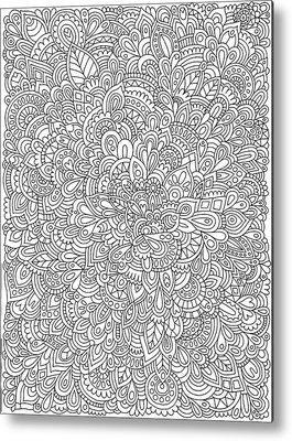 Organic Form Metal Prints