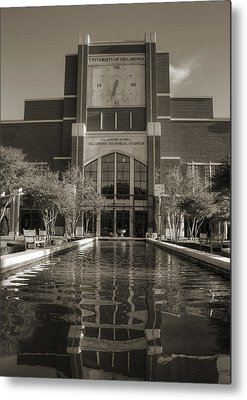 Oklahoma University Metal Prints