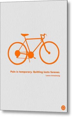 Bicyclist Metal Prints