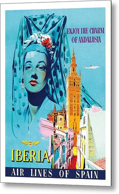 Senorita Metal Prints