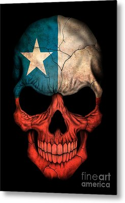 Flag Of Chile Metal Prints