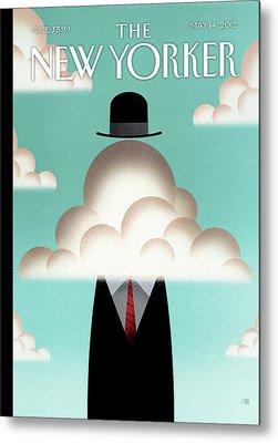 Magritte Metal Prints