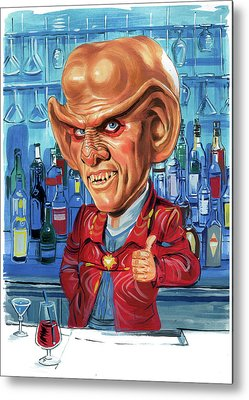Armin Shimerman Metal Prints