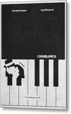 Piano Mixed Media Metal Prints