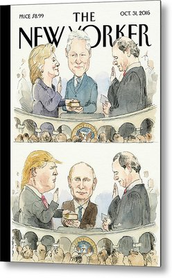Hillary Clinton Metal Prints