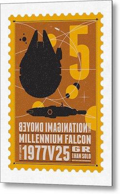 Falcon Metal Prints