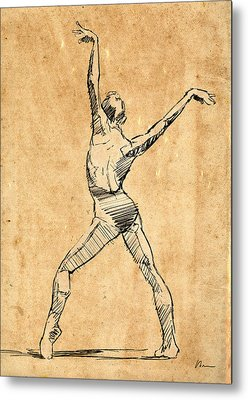 Ballet Dance Metal Prints