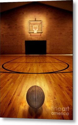 Basketball Backboard Metal Prints