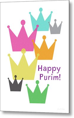 Purim Metal Prints