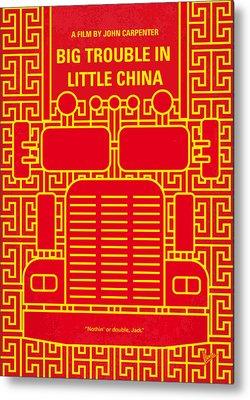 Chinatown Metal Prints