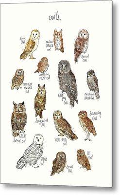 Great Horned Owl Metal Prints