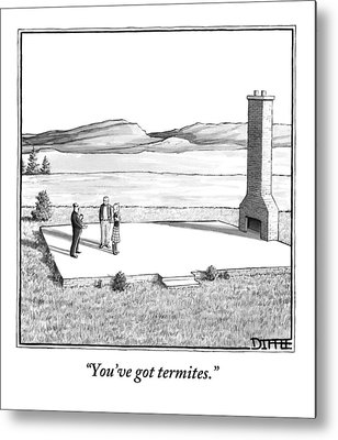 Termites Metal Prints