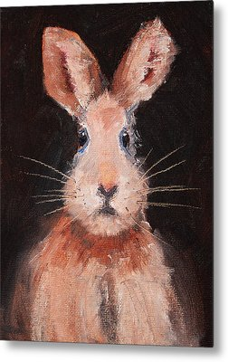 Brown Hare Metal Prints