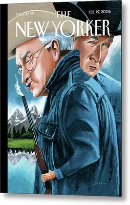Dick Cheney Metal Prints