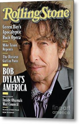 Bob Dylan Metal Prints