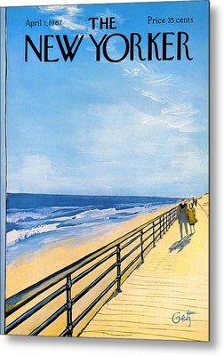 Boardwalk Metal Prints