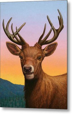 Stag Metal Prints