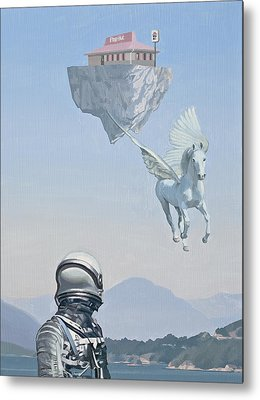 Pegasus Metal Prints