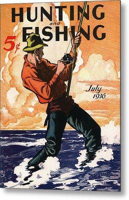 Fishermen Metal Prints