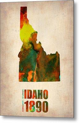 Idaho Metal Prints
