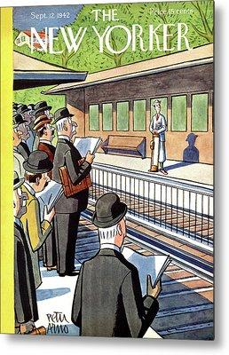 Train Station Metal Prints