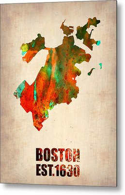 Boston Mixed Media Metal Prints