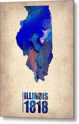 University Of Illinois Metal Prints