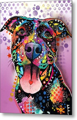 Pitbull Metal Prints