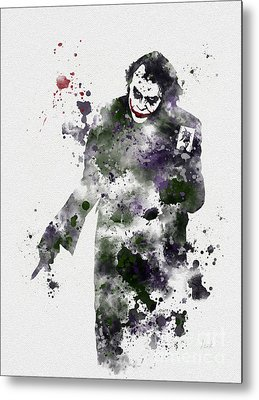 Heath Ledger Metal Prints