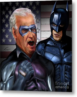 Joe Biden Metal Prints