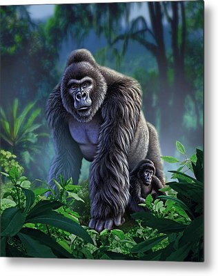 Jungle Metal Prints