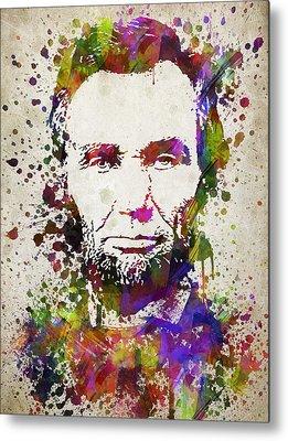 Lincoln Drawings Metal Prints