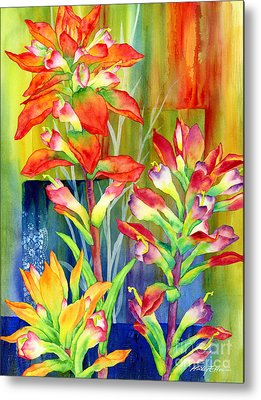 State Flower Metal Prints