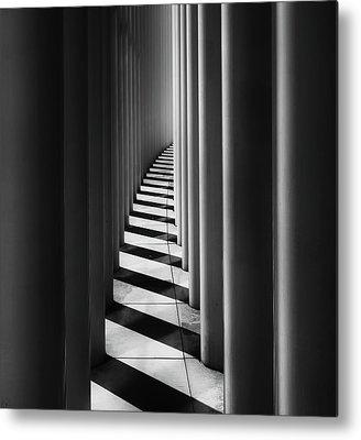 Columns Metal Prints